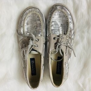 Sperry Top Sider Girls Sequin Shoes